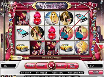 Hot City в клубе на деньги